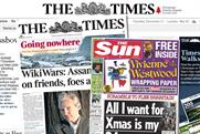 News Corp/BSkyB: considered unlikely to tie TV and newspaper ad sales
