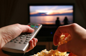 TV: ad spend down