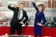 Sport Relief: Bill Turnbull and Sian Williams get Mile Ready