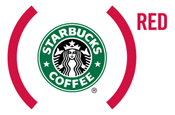 Starbucks: supports (Red) campaign