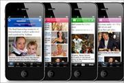 MailOnline: flies into BR app chart