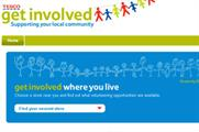 Tesco launches charity site for store staff