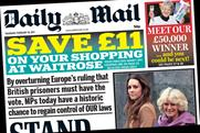 The Daily Mail: Save £11 at Waitrose