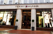 Tommy Hilfiger: launched iPhone application