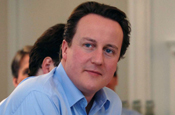 Cameron: would scrap BBC licence fee for one year