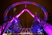 The London Eye, one attraction which has seen rising visitor numbers