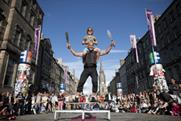 Tickets issued for 2013 Edinburgh Fringe Festival rose by 5%
