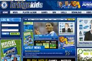 Chelsea FC relaunches Bridge Kids site