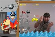 Cannonballz: augmented reality in the comfort of your own home