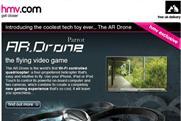 HMV: drone site boosts click-throughs