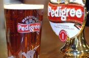 Marston's Pedigree: supporting the England cricket team