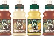 Britvic: new Robinsons Fruit Shoot My 5 range