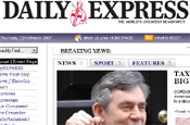 Daily Express: online sales contract