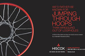 Hiscox focuses on press