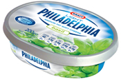 Philadelphia: pack redesign by Holmes & Marchant