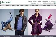John Lewis: fashion website