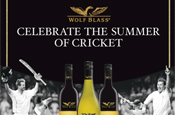 Wolf Blass: cricket promotion