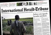 IHT: to be rebranded as The International New York Times
