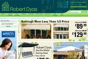 Robert Dyas: appoints the7stars