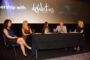 The Women in Events panel at Guide Live 2013