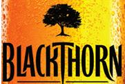 Blackthorn: appealing to traditional cider drinkers