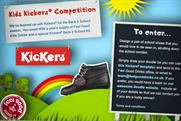 Feel Good Drinks: partners with Kickers for back-to-school competition