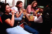Alcohol: a new survey has found that young people feel bombarded by alcohol advertising
