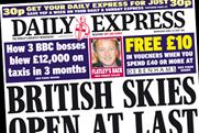 The Daily Express: Debenams £10 voucher for readers