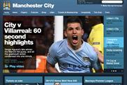 Manchester City: boosts digital channels