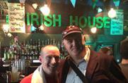 Dara O'Brien at the Irish House last summer