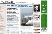 Gannett: revenues at its UK Newsquest operation fell 29.3%