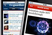 Guardian: iPhone app exceeds 70,000 downloads