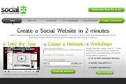 SocialGo: allows users to build their own social networking site