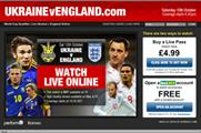 England vs Ukraine football World Cup qualifier heralds future of sports on web