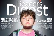 Reader's Digest: aims to up circulation by 50% within three years