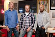 (l-r) Andrew Pinkess, Gregory Roekens and Saher Sidhom
