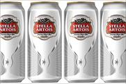 Stella Artois: rolls out the chalice can