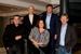 DDB (l to r)…Goulding, Roberts, Victoria Fox, Nick Fox, Woodford