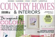 Country Homes & Interiors: monthly circulation of 99,676 is its highest in eight years