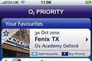 O2: Priority app is highest new entry this week