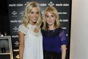 Mollie King from The Saturdays with Marie Claire's Trish Halpin