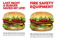 London Fire Brigade: press ads (composite image)