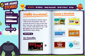 Puffin: 'we make stories' site