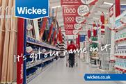 Wickes has appointed Carat