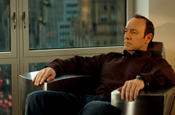 Spacey: replaces Gandolfini in American Airline campaign