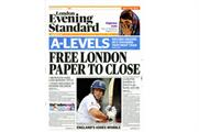 Evening Standard flogs 10p copies to spread word of rival's closure