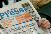 Johnston Press: hit by falling ad revenues
