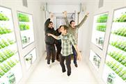 Heineken: 'walk-in fridge' campaign