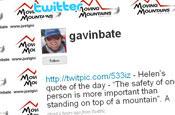 Twitter: Gavin Bate's page