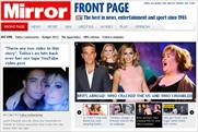 Mirror Online: relaunched site recorded a 30% fall in total monthly users last month